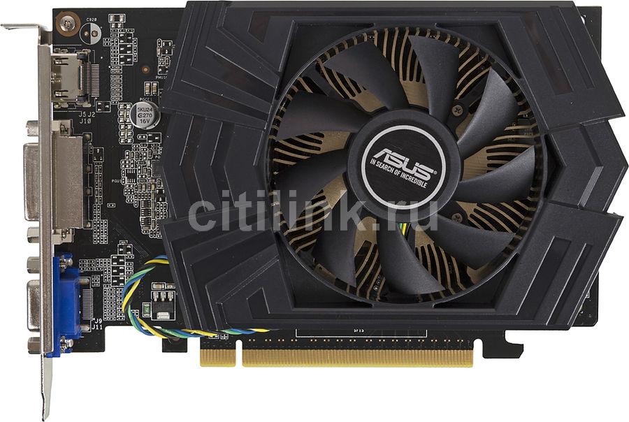 Видеокарта ASUS GeForce GT 740,  GT740-OC-2GD5,  2Гб, GDDR5, Ret