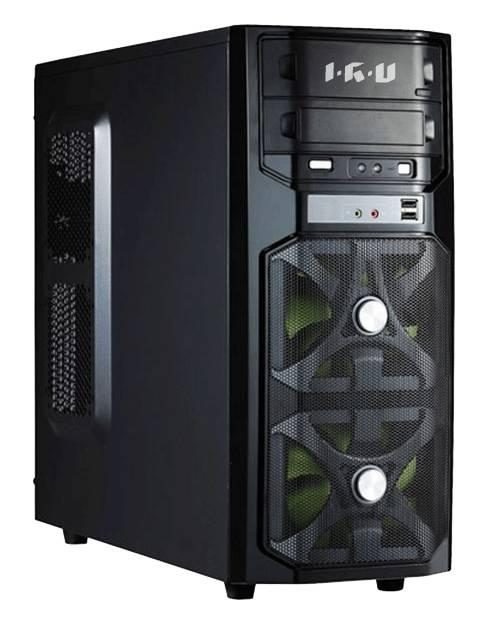 Компьютер  IRU Power 725,  Intel  Core i7  4820K,  DDR3 16Гб, 3Тб,  240Гб(SSD),  nVIDIA GeForce GTX TITAN - 6144 Мб,  DVD-RW,  noOS,  черный
