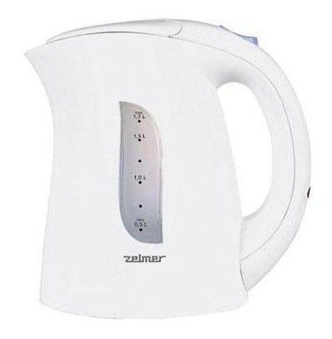 Чайник электрический ZELMER ZCK0273B, 2200Вт, белый