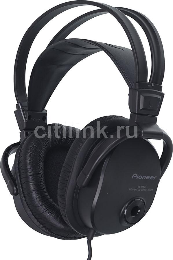 Наушники PIONEER SE-M521, 3.5 мм, мониторы, черный