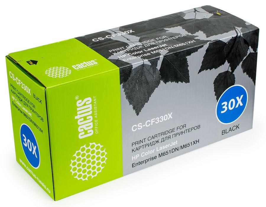 Картридж CACTUS CS-CF330X черный