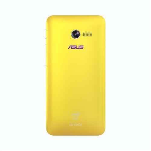 Чехол (флип-кейс) ASUS Zen Case, для Asus ZenFone 4 A400CG, желтый [90xb00ra-bsl180]