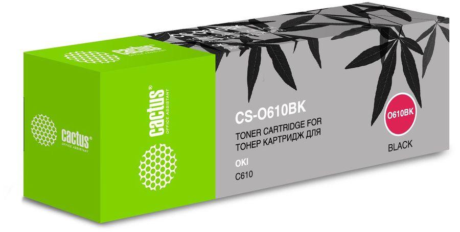 Картридж CACTUS CS-O610BK черный