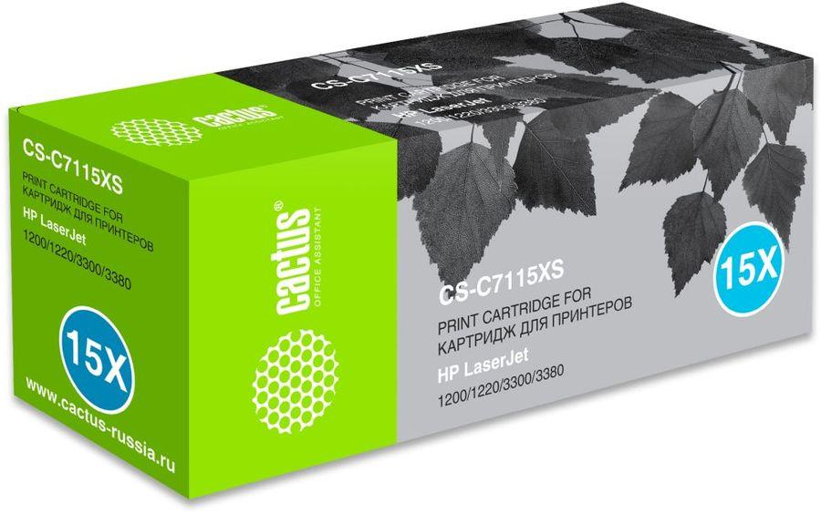 Картридж CACTUS CS-C7115XS, черный