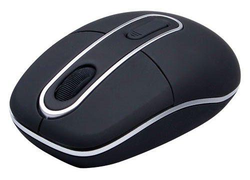 Мышь A4 G6-10 оптическая беспроводная USB, черный [g6-10-1 usb]
