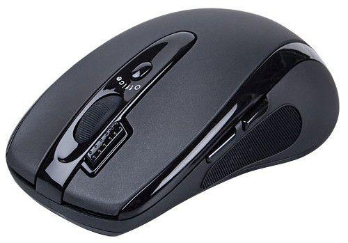 Мышь A4 G6-70D оптическая беспроводная USB, черный [g6-70d usb]