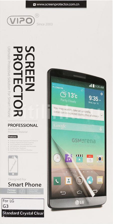 Защитная пленка VIPO для LG G3,  прозрачная, 1 шт