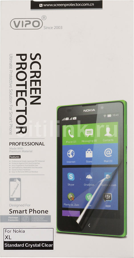 Защитная пленка VIPO для Nokia XL,  прозрачная, 1 шт