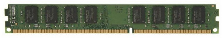Память Kingston 8Gb DDR3L (KVR13LR9S4/8) DIMM ECC Reg VLP PC3-10600 CL9 [kvr13lr9s4l/8]