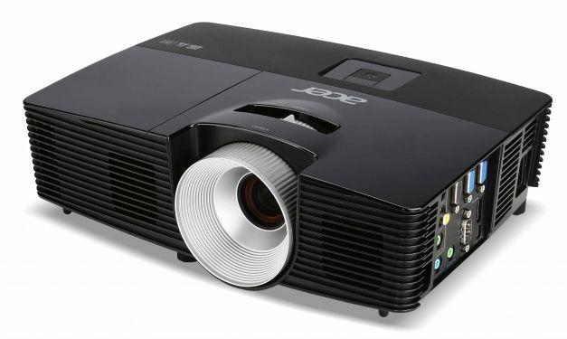 Проектор ACER X1383WH черный [mr.jhf11.001]