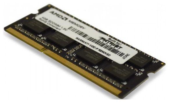 Модуль памяти AMD R534G1339S1S-UO DDR3 -  4Гб 1333, SO-DIMM,  OEM