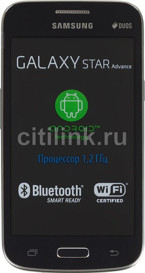 Смартфон SAMSUNG Galaxy Star Advance SM-G350E  черный