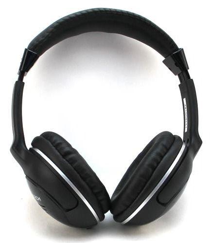 Наушники с микрофоном A4 BH-500,  мониторы, bluetooth,  черный
