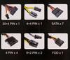 Блок питания AEROCOOL KCAS-600W,  600Вт,  120мм,  черный, retail вид 8