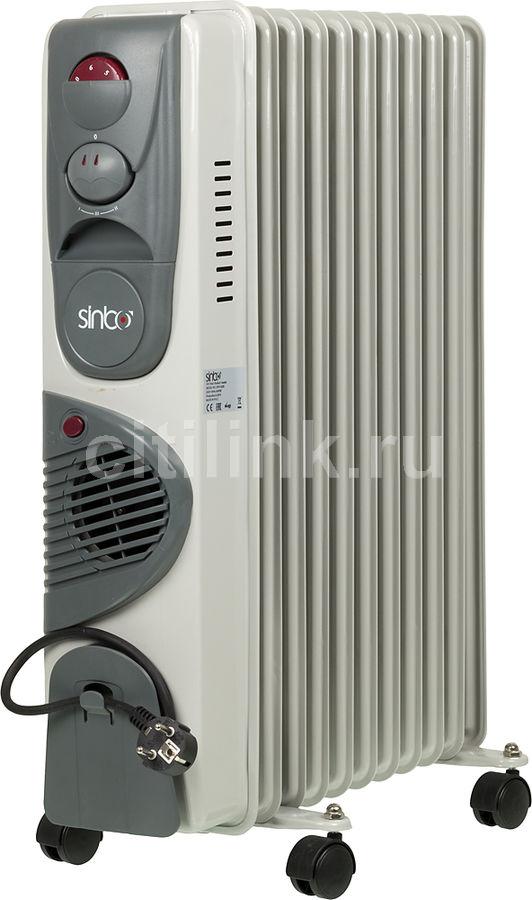 Масляный радиатор SINBO SFH 3326, 2000Вт, белый