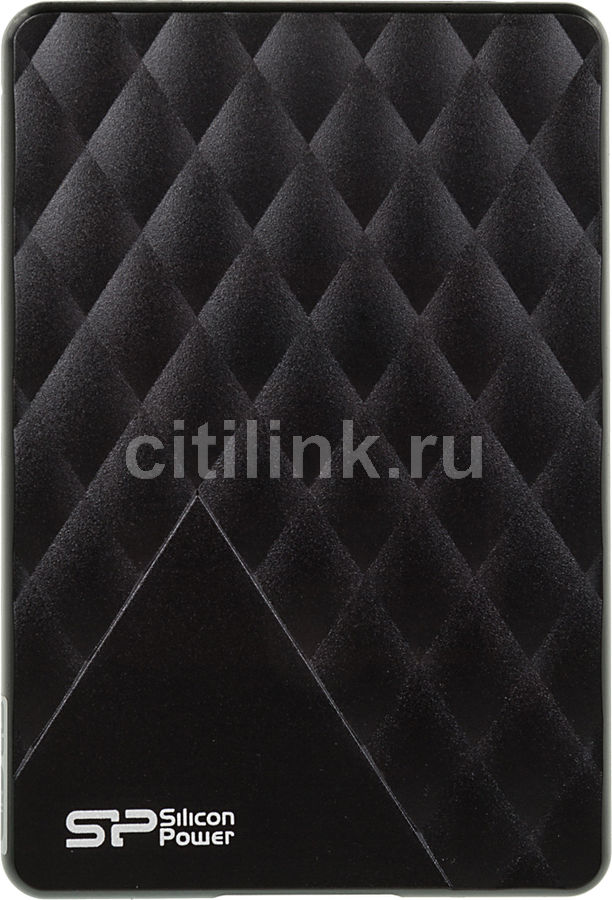 Внешний жесткий диск SILICON POWER Diamond D06, 1Тб, черный [sp010tbphdd06s3k]