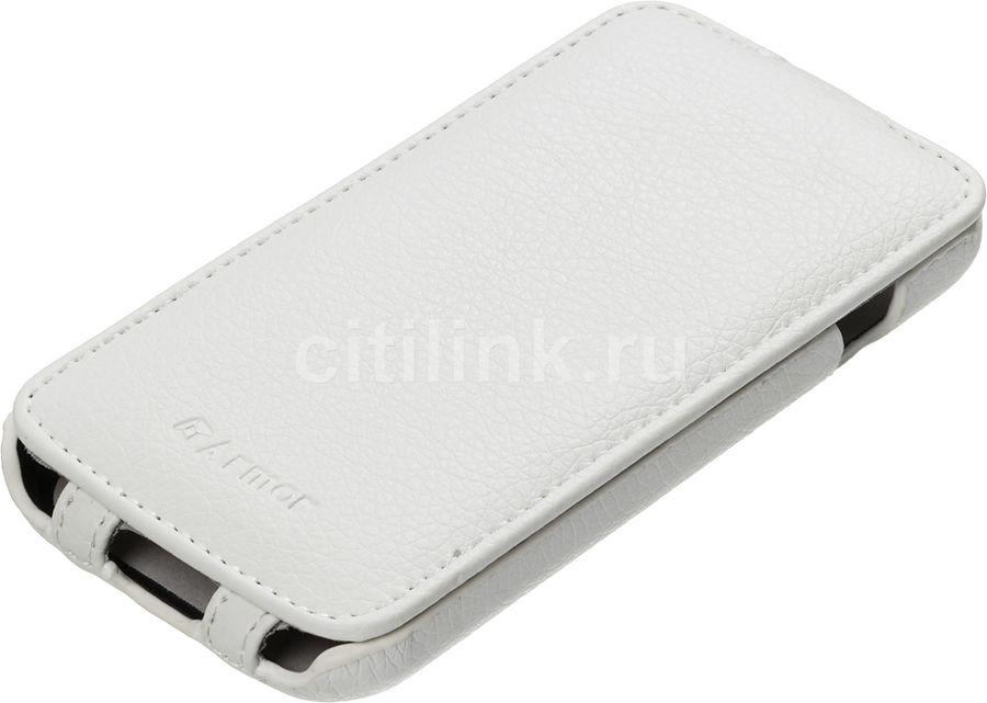 Чехол (флип-кейс) ARMOR-X flip full, для LG L90, белый