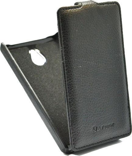 Чехол (флип-кейс) ARMOR-X flip full, для Nokia X dual sim, черный