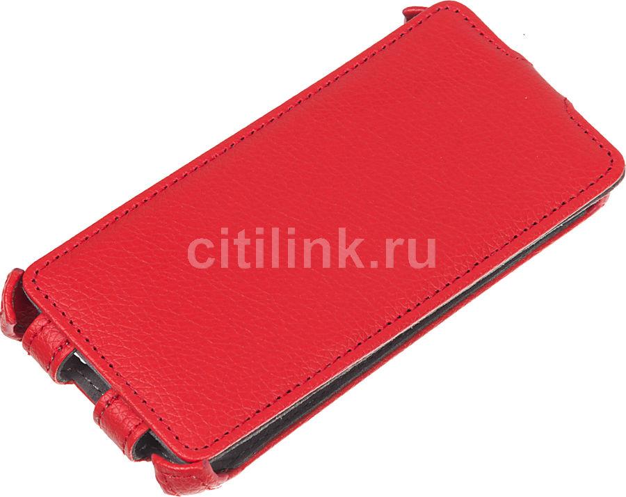 Чехол (флип-кейс) ARMOR-X flip, для Fly IQ4403 Energie 3, красный