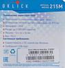 Мышь OKLICK 215M оптическая проводная USB, черный и синий [m207 light blue] вид 8
