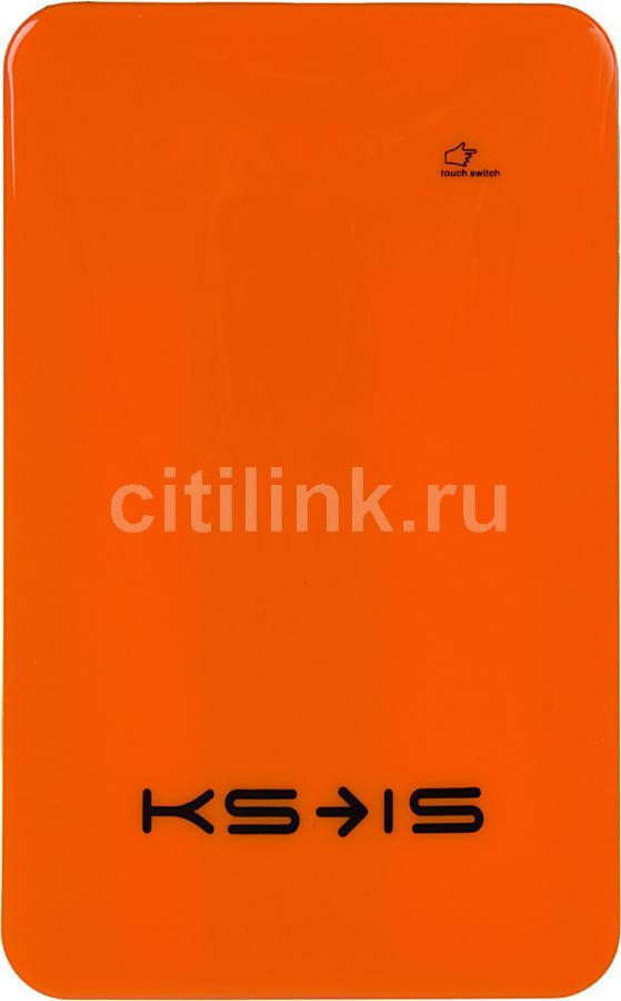 Внешний аккумулятор KS-IS KS-215,  10000мAч,  оранжевый [ks-215orang]