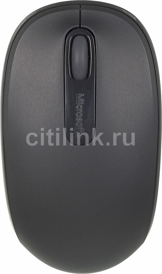 Мышь MICROSOFT Mobile Mouse 1850 оптическая беспроводная USB, черный [u7z-00004]