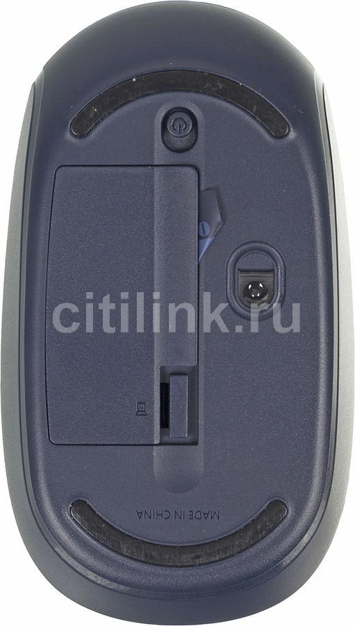 (U7Z-00014) Мышь Microsoft Mobile Mouse 1850 синий беспроводная (1000dpi) USB2.0 для ноутбука