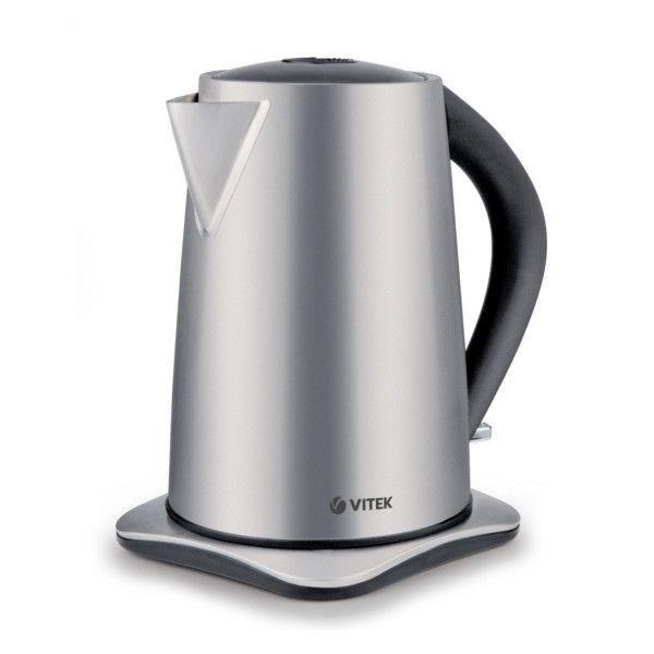 Чайник электрический VITEK VT-1177 SR, 2200Вт, серебристый
