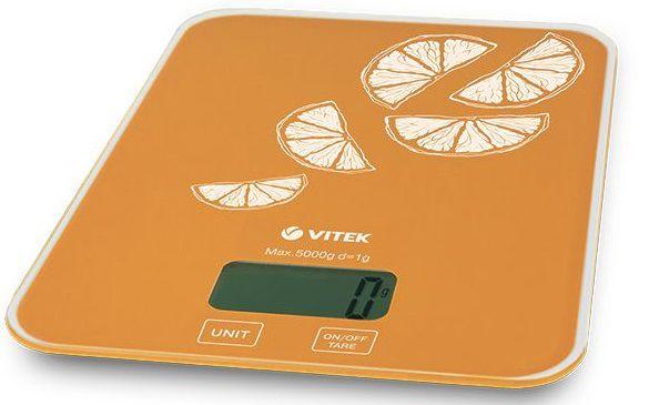 Весы кухонные VITEK VT-2416,  оранжевый