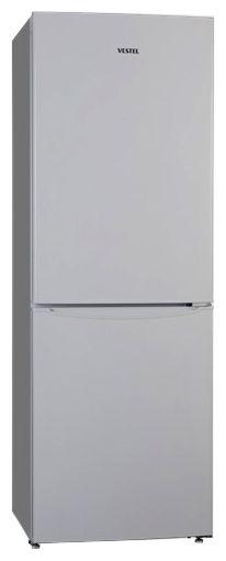 Холодильник VESTEL VCB 276 VS,  двухкамерный,  серебристый