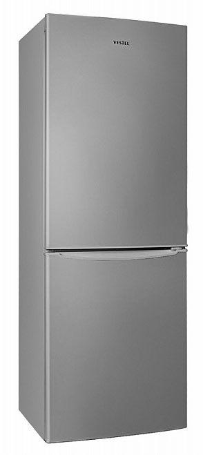 Холодильник VESTEL VCB 330 VS,  двухкамерный,  серебристый