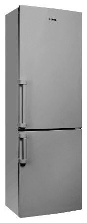 Холодильник VESTEL VCB 365 DX,  двухкамерный,  серебристый [11002401]
