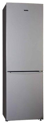 Холодильник VESTEL VNF 366 DXM,  двухкамерный,  серебристый
