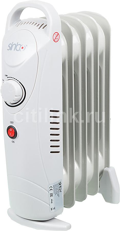 Масляный радиатор SINBO SFH 3381, 500Вт, серый
