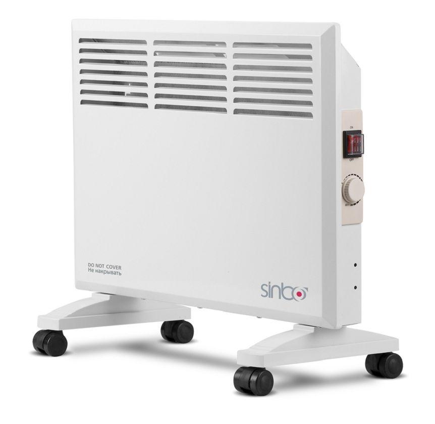 Конвектор SINBO SFH 3365,  1000Вт,  белый