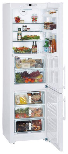 Холодильник LIEBHERR CBN 3913,  двухкамерный,  белый