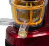 Соковыжималка KITFORT КТ-1101-2,  шнековая,  бордовый вид 9