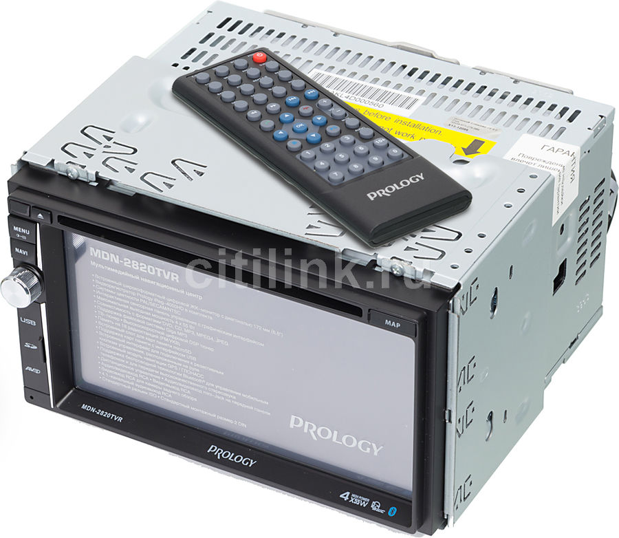 Автомагнитола PROLOGY MDN-2820T VR,  USB,  SD