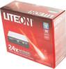 Оптический привод DVD-RW LITE-ON IHAS324, внутренний, SATA, черный,  Ret вид 7