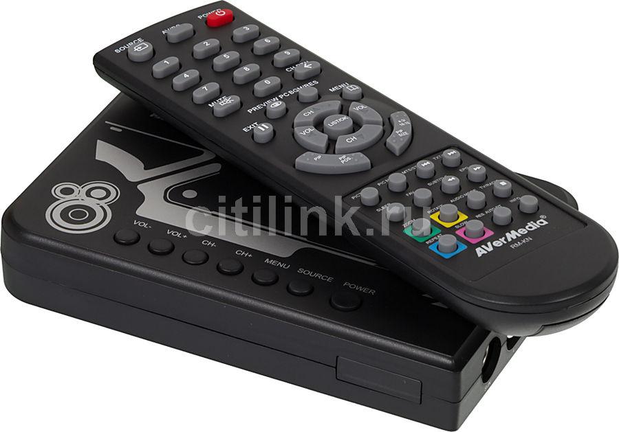 ТВ-тюнер/FM-тюнер AVERMEDIA AVerTV BOX W9 Lite,  внешний