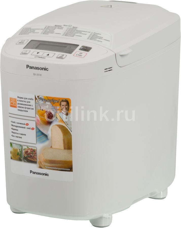 Хлебопечь PANASONIC SD-2510WTS,  белый