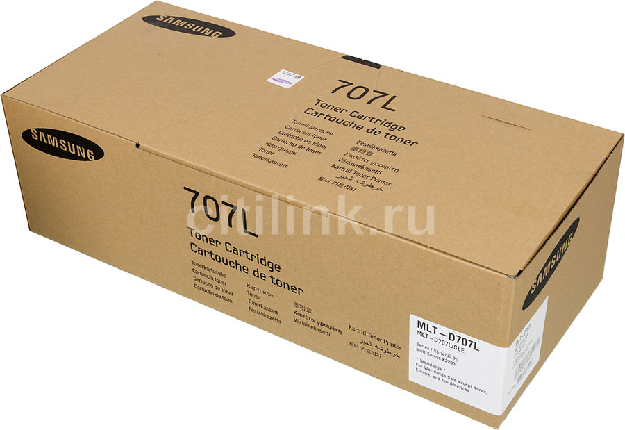 Картридж SAMSUNG MLT-D707L/SEE черный