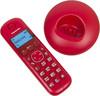 Радиотелефон PANASONIC KX-TGB210RUR,  красный вид 4