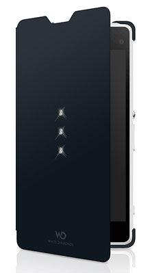 Чехол (флип-кейс) WHITE DIAMONDS Crystal Booklet, 3611TRI6, для Sony Xperia Z1 Compact, черный