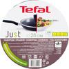 Сковорода TEFAL Just 04082120, 28см, с крышкой,  черный [9100015402] вид 5