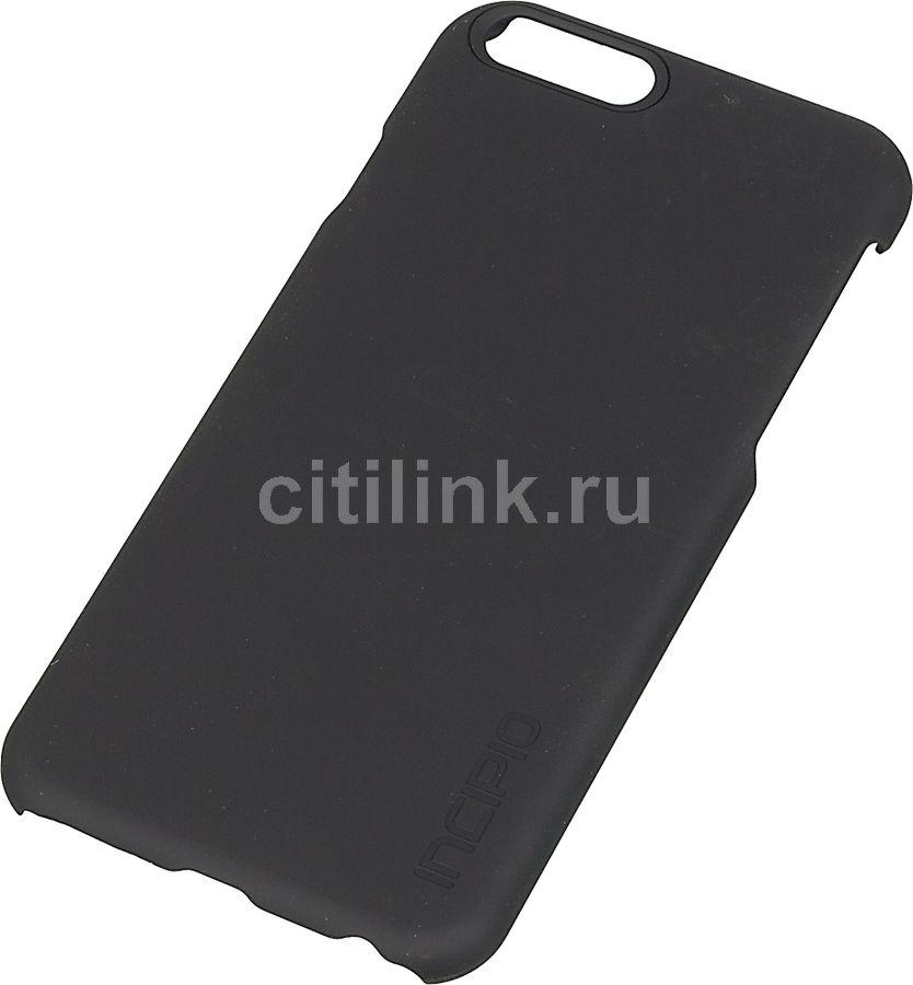 Чехол (клип-кейс) INCIPIO Feather, для Apple iPhone 6, черный (матовый) [iph-1177-blk]