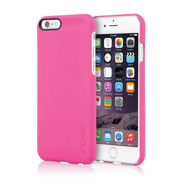 Чехол (клип-кейс) INCIPIO Feather, для Apple iPhone 6, розовый [iph-1177-pnk]