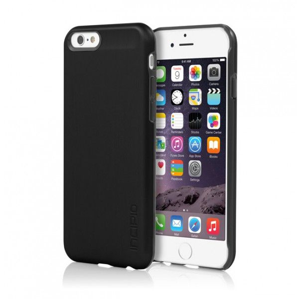 Чехол (клип-кейс) INCIPIO Feather Shine, для Apple iPhone 6, черный [iph-1178-blk]