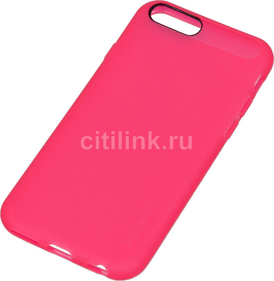 Чехол (клип-кейс) INCIPIO NGP, для Apple iPhone 6, розовый (полупрозрачный) [iph-1181-neonpnk]