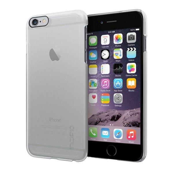 Чехол (клип-кейс) INCIPIO Feather, для Apple iPhone 6 Plus, прозрачный [iph-1193-clr]